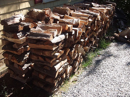 Keep Logs Dry this Winter | Best Way to Store Logs | Bury Hill